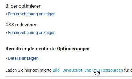 website bilder optimieren